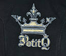 Демисезонное пальто для девочки Gina черное (Petito club, Турция), фото 4