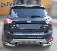 Задняя защита уголки для Ford Kuga 2008-2012