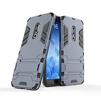 Чехол Meizu 15 5.46'' Hybrid Armored Case темно-синий