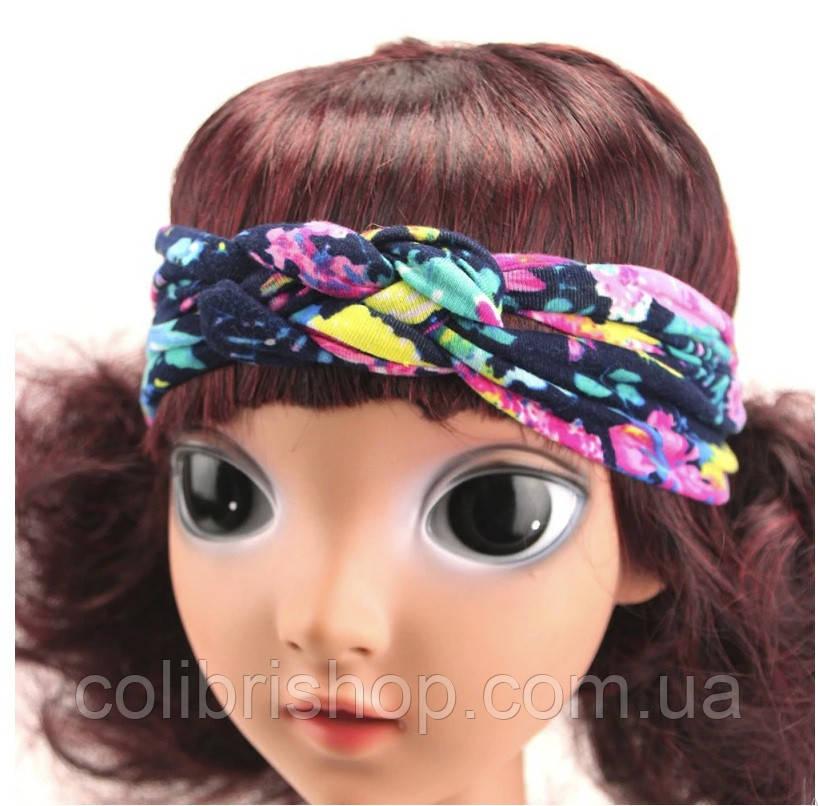Чалма, солоха, повязка на голову с узлом