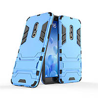 Чехол Meizu 15 5.46'' Hybrid Armored Case голубой
