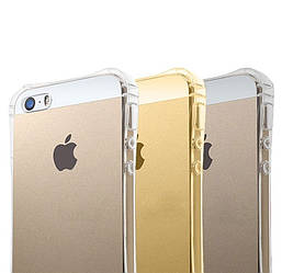 Прозрачный чехол iPhone 5 5S SE (усиленный углами) Ultra Air (Айфон 5 5С СЕ)