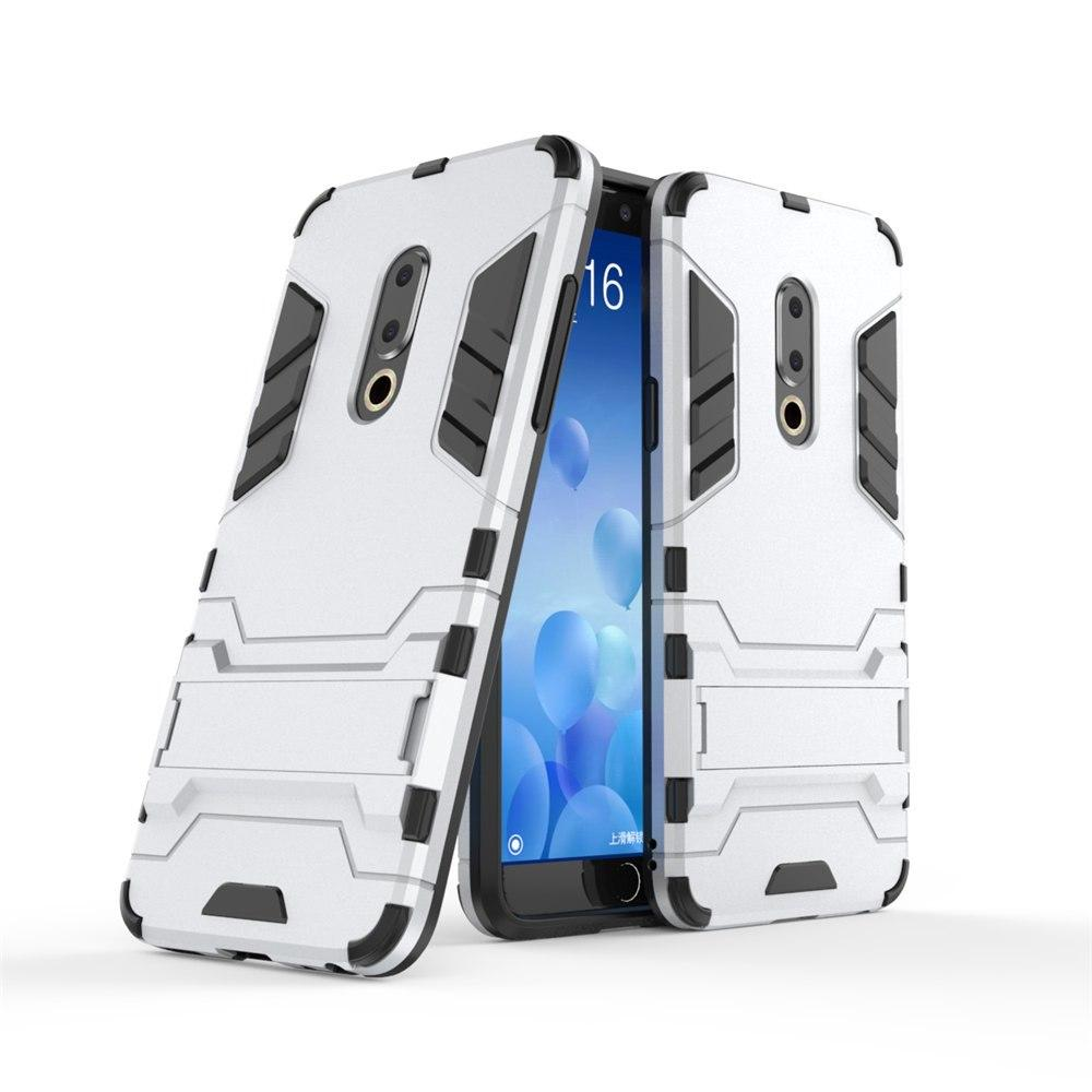 "Чохол Meizu 15 Plus 5.95"" Hybrid Armored Case світло-сірий"
