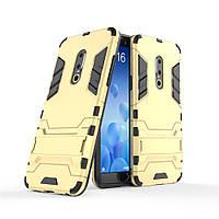 "Чохол Meizu 15 Plus 5.95"" Hybrid Armored Case золотий"
