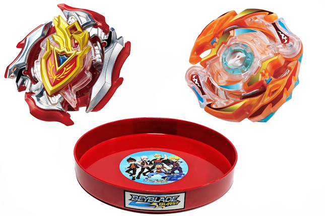 Бейблэйд набор ➜ Ахиллес Z Achilles + Блейз Роктавор Blaze Ragnaruk + Бейблейд Арена ➜ Beyblade Burst Set, фото 2