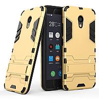 Чехол Meizu M5C Hybrid Armored Case золотой