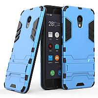 Чехол Meizu M5C Hybrid Armored Case голубой