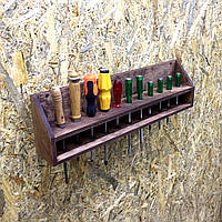 Органайзер для ручного инструмента Кастельон 11 коричневый