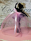 Топпер балеринка танцующая , Украшения на торт ОПТ/Розница, фото 5