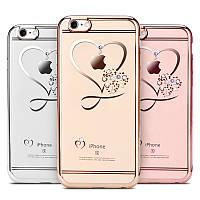 Чехол силиконовый iPhone 6 6S Goldy Love (Айфон 6 6С)