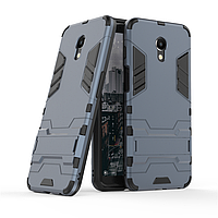 Чехол Meizu M6S 5.7'' / mblu S6 Hybrid Armored Case темно-синий