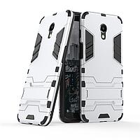 Чехол Meizu M6S 5.7'' / mblu S6 Hybrid Armored Case светло-серый