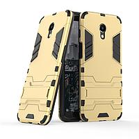 Чехол Meizu M6S 5.7'' / mblu S6 Hybrid Armored Case золотой
