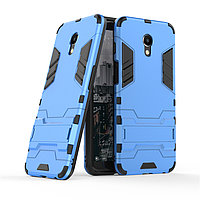 Чехол Meizu M6S 5.7'' / mblu S6 Hybrid Armored Case голубой