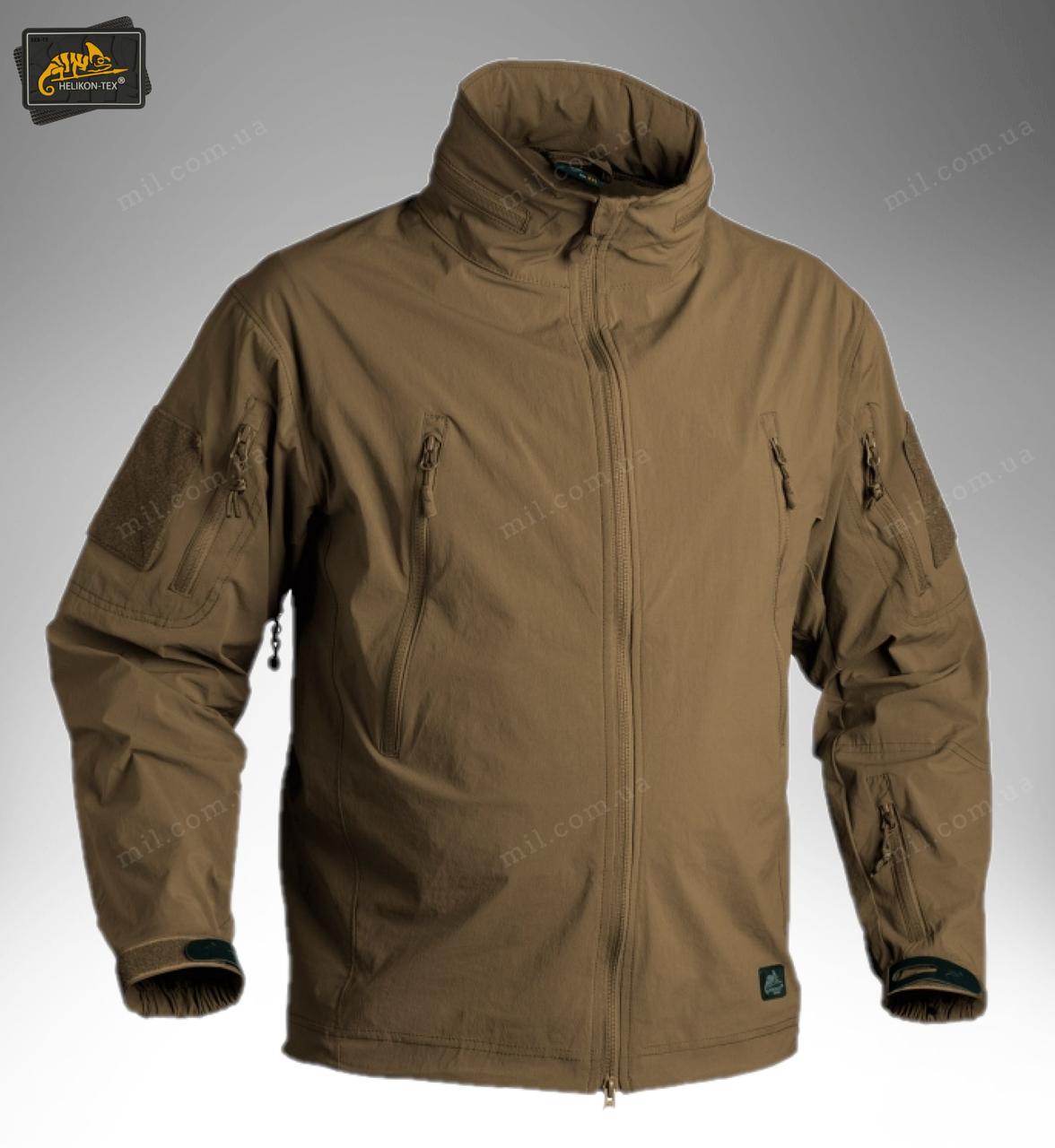 Демисезонная тактическая куртка Helikon-Tex® TROOPER Soft Shell (coyote)