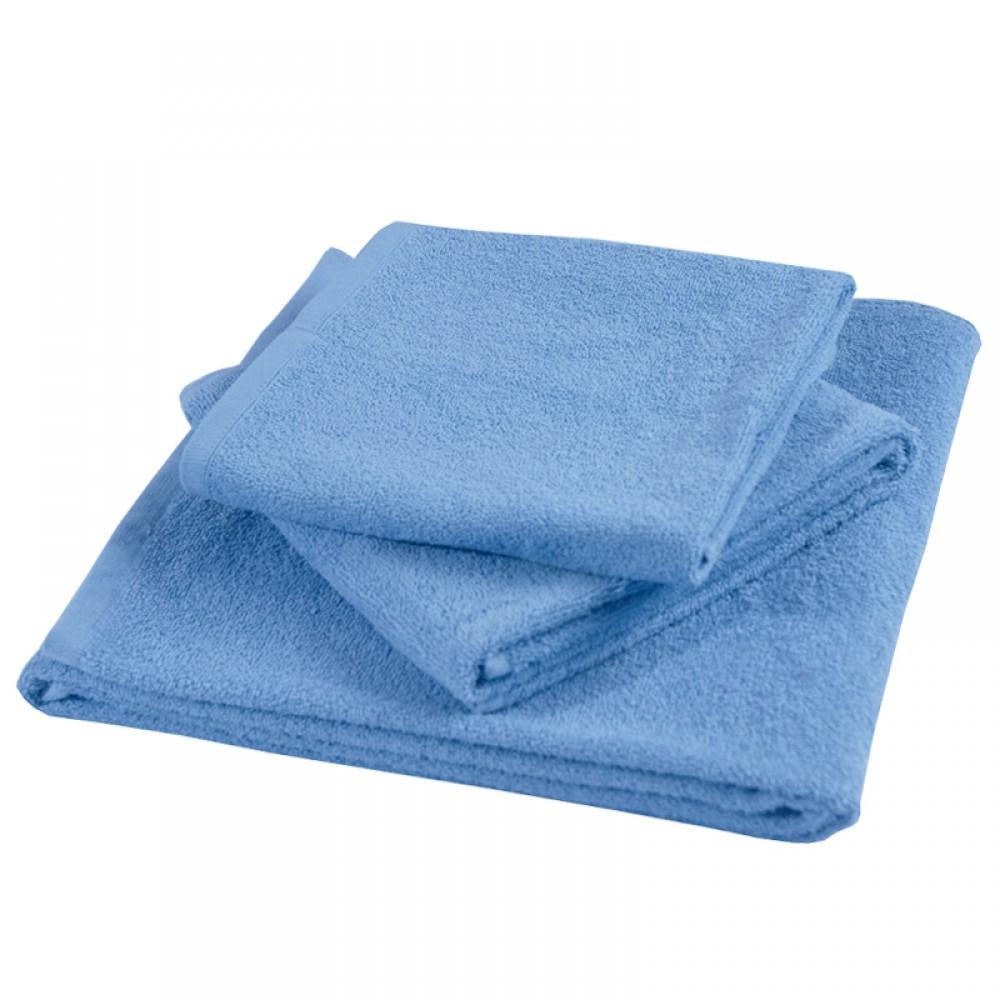 Набор махровых полотенец гладкокрашенных Элегант ТМ Ярослав 3 шт в упак