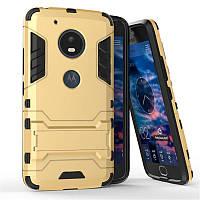Чехол Motorola Moto G5 / XT1676 Hybrid Armored Case золотой