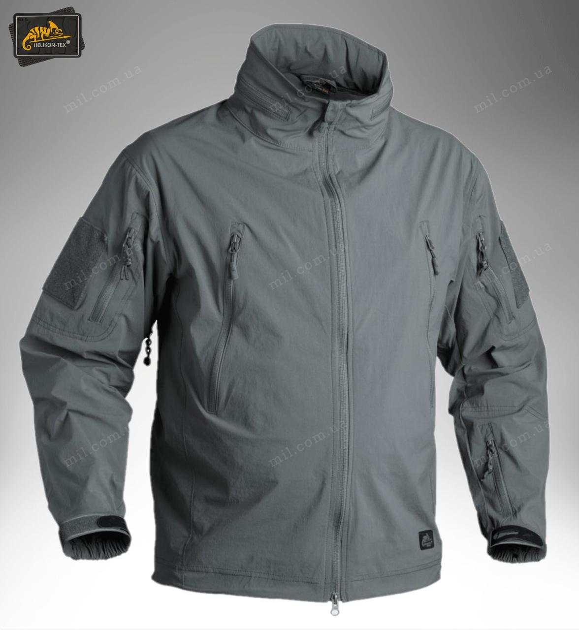 Демисезонная тактическая куртка Helikon-Tex® TROOPER Soft Shell (a green)