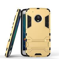 Чехол Motorola Moto G5 Plus / XT1685 Hybrid Armored Case золотой