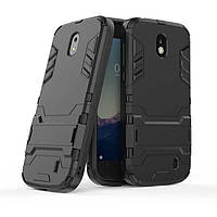 Чехол Nokia 1 Hybrid Armored Case черный