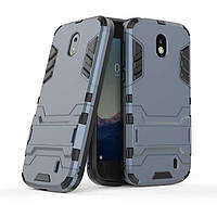 Чехол Nokia 1 Hybrid Armored Case темно-синий