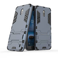 Чехол Nokia 2 Hybrid Armored Case темно-синий