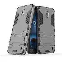 Чехол Nokia 2 Hybrid Armored Case темно-серый