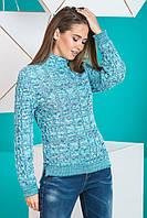 """Вязаный женский свитер """"Мила"""", в расцветках, фото 1"""
