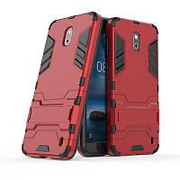 Чехол Nokia 2 Hybrid Armored Case красный