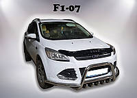 Кенгурятник с усом  Ford Kuga 2013+