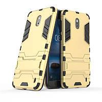 Чехол Nokia 2 Hybrid Armored Case золотой