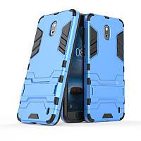 Чехол Nokia 2 Hybrid Armored Case голубой