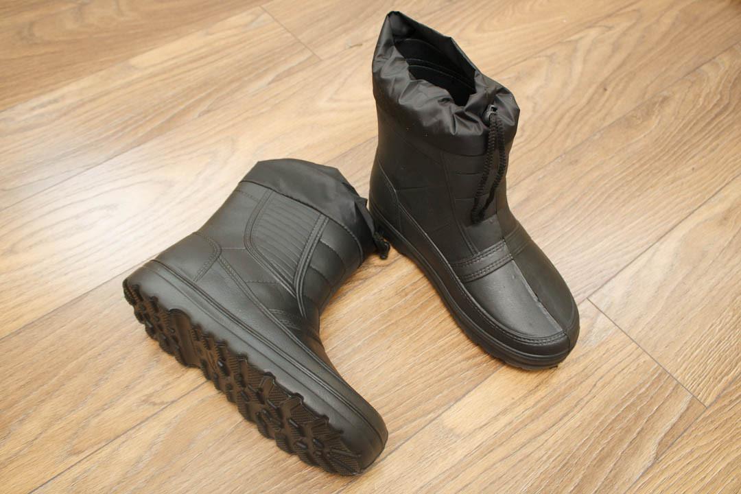 Мужские сапоги с меховым чулком (Код  ГП 05 черн)  продажа 9218480fa5426