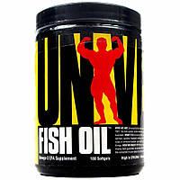 Рыбий жир Universal Fish Oil 100 softgels, Юниверсал Рыбий жир 100 софтгелс