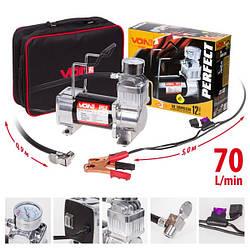 Автомобильный компрессор VOIN 150psi 23Amp 70л VP-610 (3)