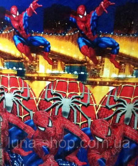 Дитячий плед-покривало з мікрофібри Людина-павук/ Спайдермен-2, 160*210