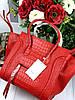 Брендовая женская сумка Celine Fantom натуральная кожа под крокодила (реплика)