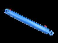 Гидроцилиндр ковша кун ПКУ-0,8 80х40х400. 16ГЦ.80/50.ПП.000-9-400