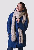 Зимняя куртка женская распродажа Avecs джинсовый