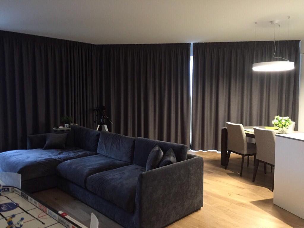 Шторы блэкаут для квартиры в ЖК Квартет