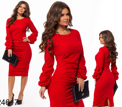 698333f727b Купить Элегантное вечернее платье футляр с длинными рукавами черный ...