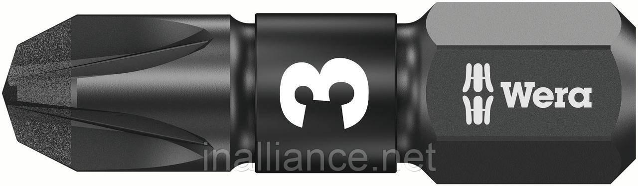 Биты ударные PZ3 x 25 мм, насадки 855/1 IMP DC Impaktor Wera 05057622001
