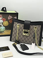 Женская сумка-тоут Gucci Padlock  (реплика), фото 1