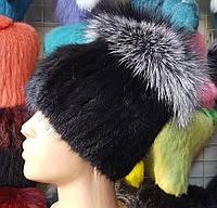 Зимняя шапка кубанка из натурального меха резинка 00acc67f9bc7f