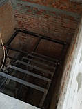 Лестницы. Каркас лестницы с площадкой и  поворотом 180*, фото 7