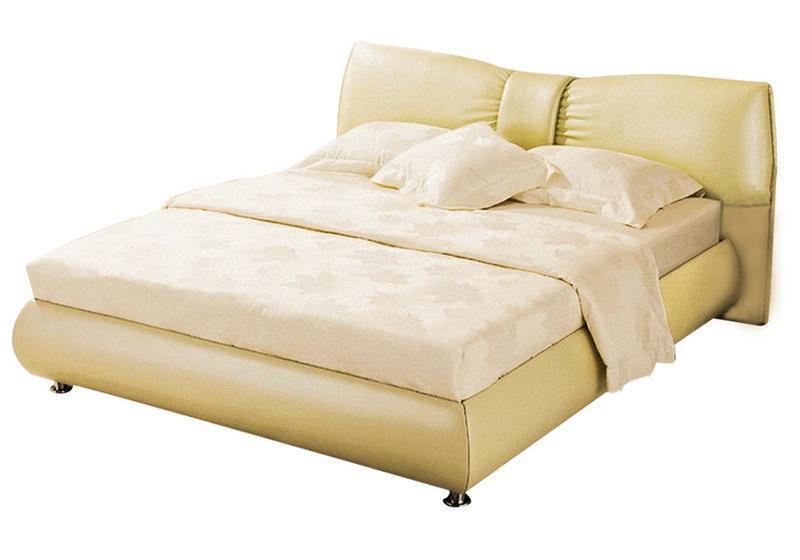 Ліжко з м'якою спинкою з підйомним механізмом Селена (200 х 200) КІМ