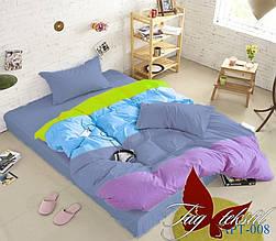 Семейный комплект постельного белья Color mix APT008
