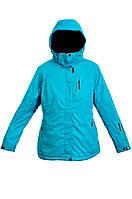 Женская зимняя куртка лыжная батальная Avecs 5745495 голубой 52