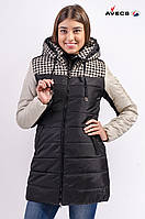 Зимняя куртка женская Avecs 569 черный 44 (М)