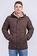 Зимняя куртка мужская Avecs 963 коричневый 46 (S)